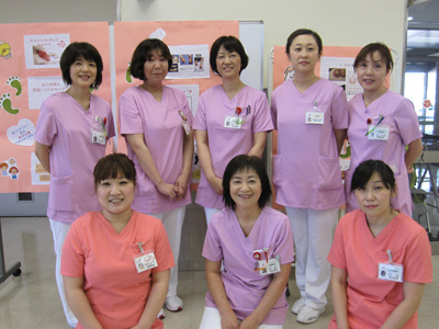「1日まちの保健室」を盛り上げた看護部スタッフ