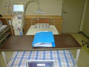 透析装置とベッド