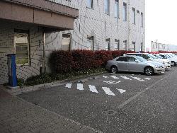 時間外受診者駐車場